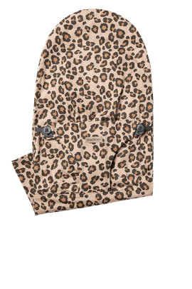 Extra Fabric Seat for Bouncer Bliss in Leopard print soft Cotton - BABYBJÖRN