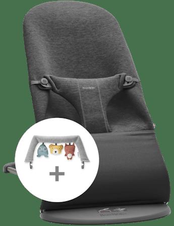 Kit Sdraietta Bliss e Giochi Morbidi Amici 3D Jersey - BABYBJÖRN
