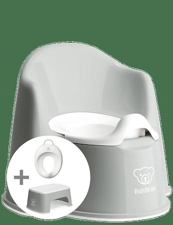 Starter kit per abbandonare il pannolino Grigio/Bianco - BABYBJÖRN