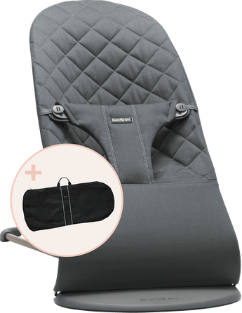 Bouncer bundle with transport bag for shorter and longer trips