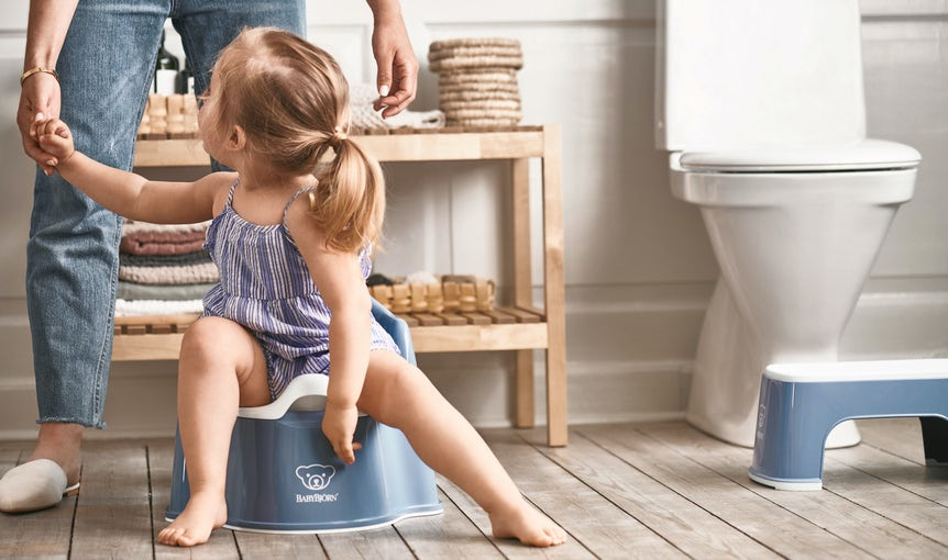 Potty training tips and advice