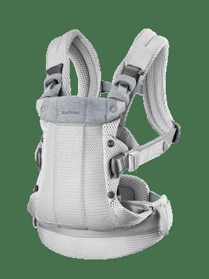 Marsupio Harmony Argento 3D Mesh con supporto lombare imbottito e un design ergonomico.