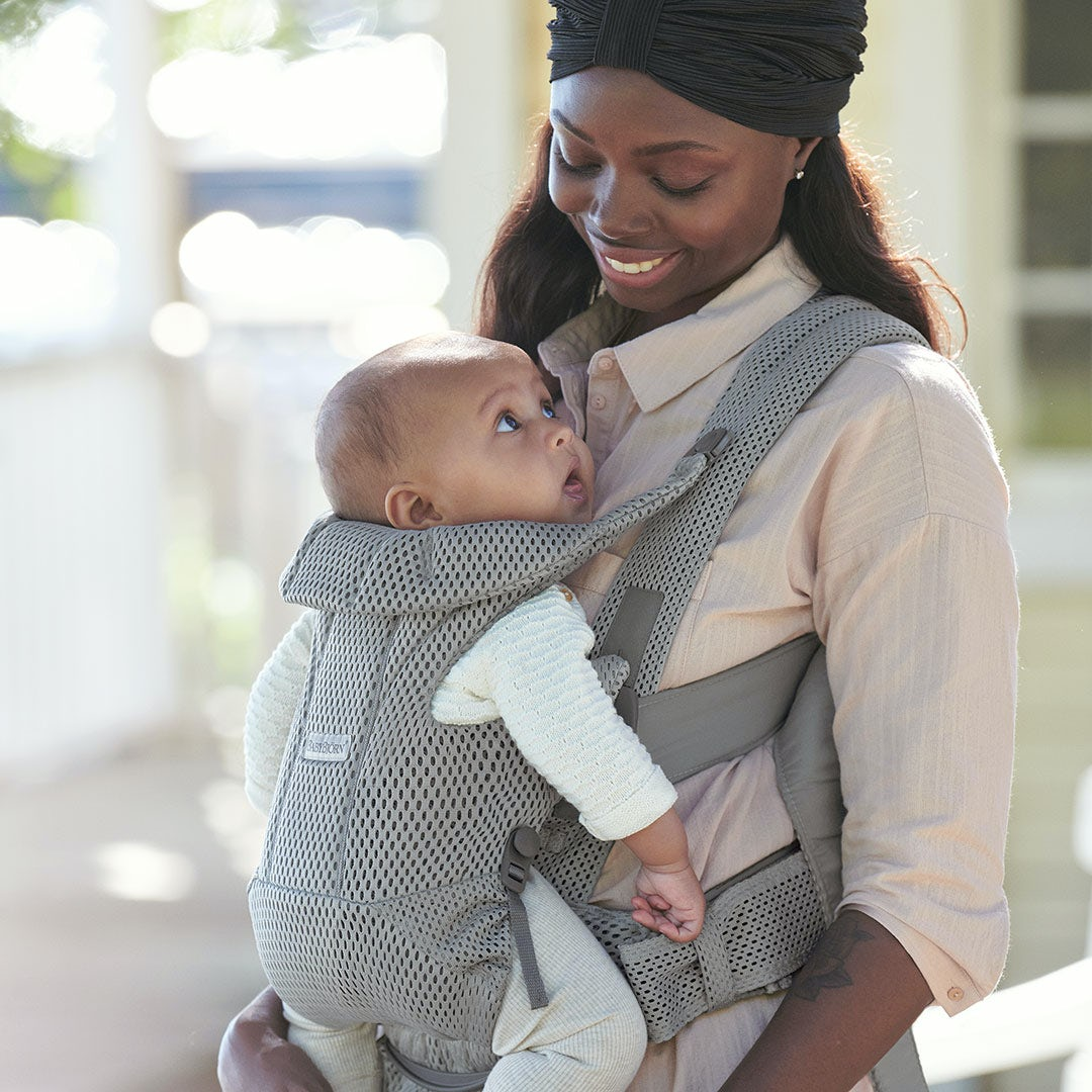 Developement - find the perfect baby carrier