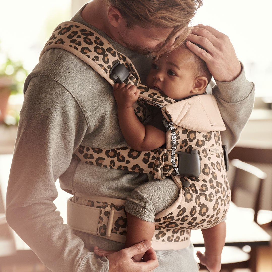 Find the perfect baby carrier - good for small tummies that are upset