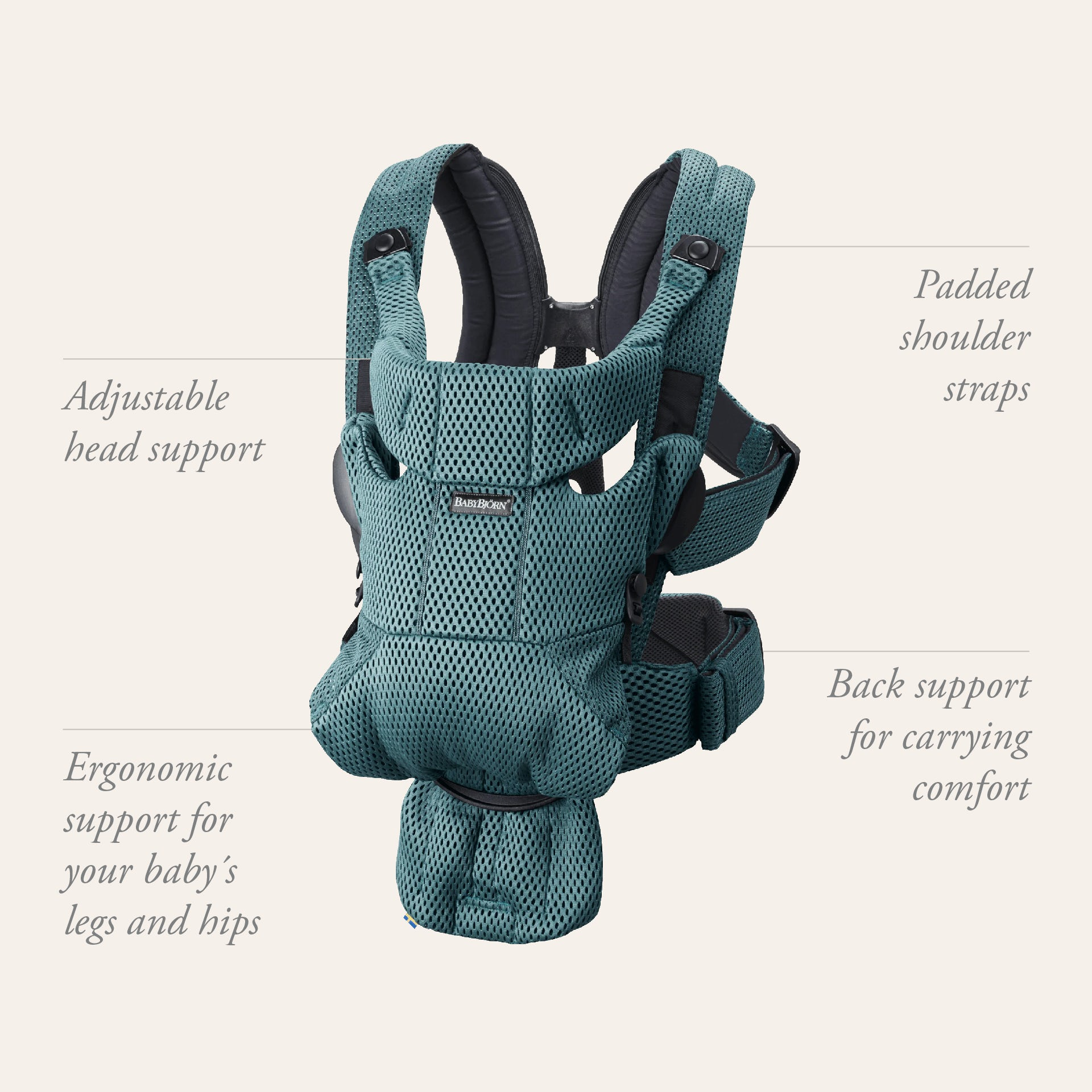 Baby Carrier Move - find the right baby carrier for you