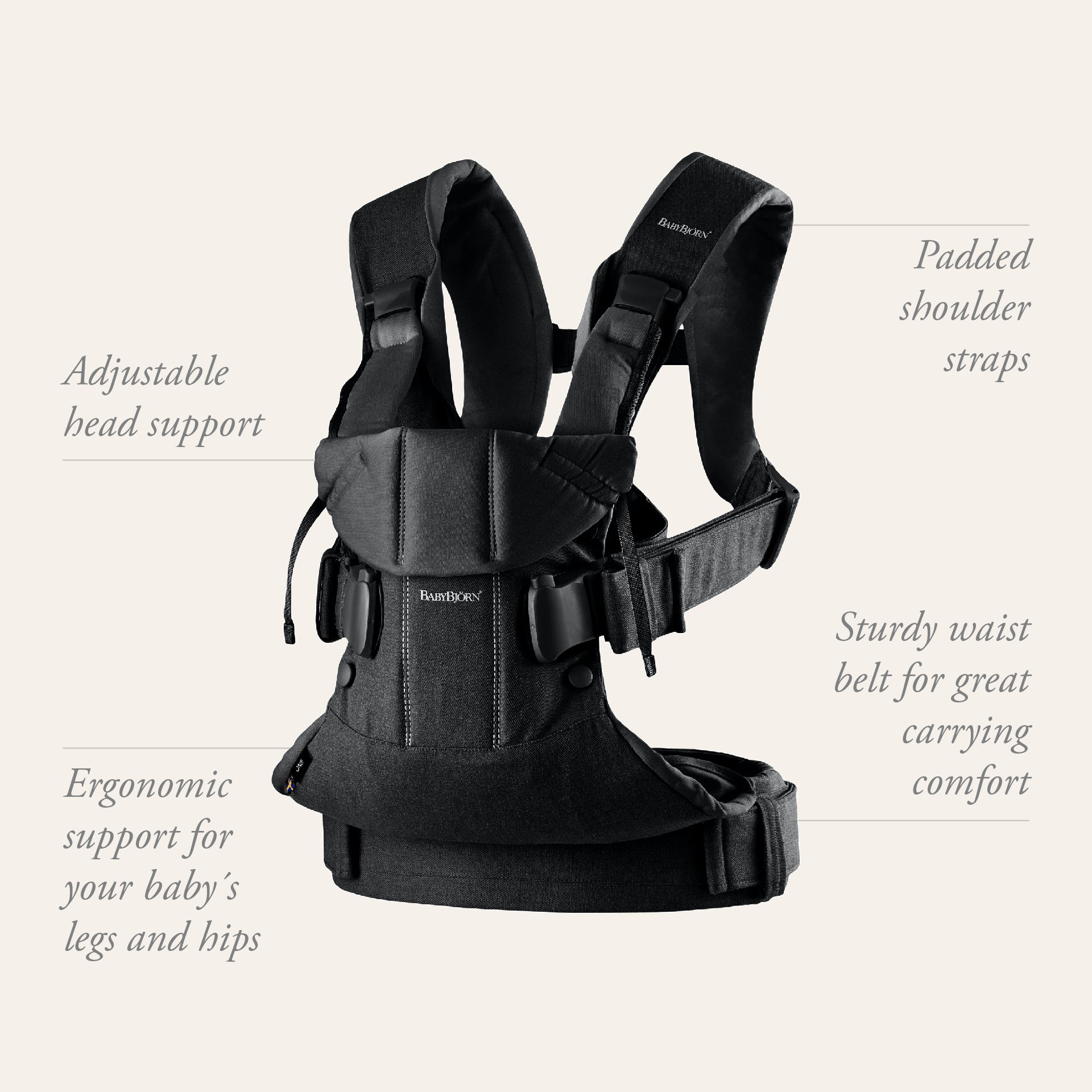 Baby Carrier One - find your perfect baby carrier