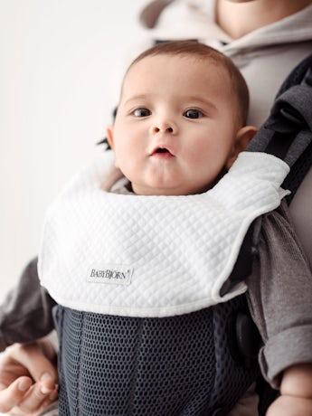 Bavoir pour Porte-bébé Harmony Blanc en Tencel