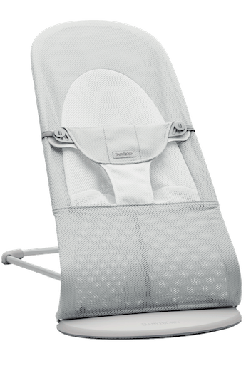 Bouncer Balance Soft Silver White airy and cool mesh