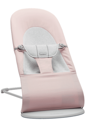 Bouncer Balance Soft Light pink Grey Cotton/Jersey