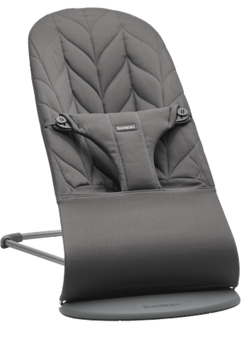 Bouncer Bliss in Anthracite Cotton Petal Quilt