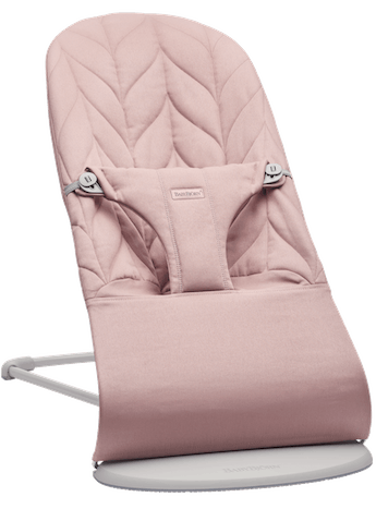 Bouncer Bliss in Dusty Pink Cotton Petal Quilt