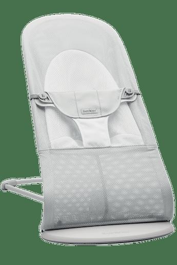 Transat Balance Soft Argent/Blanc Mesh