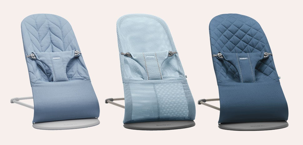 Bouncers in blue tones - BABYBJÖRN Baby Bouncer Guide
