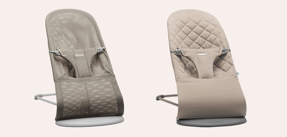 Bouncers neutral colours - baby bouncer guide